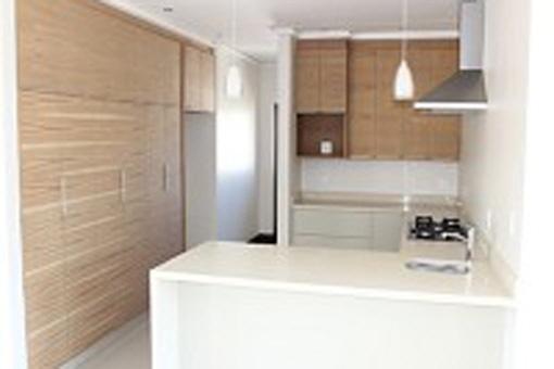 Spacious new kitchen area