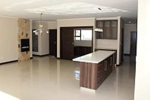 American style kitchen area
