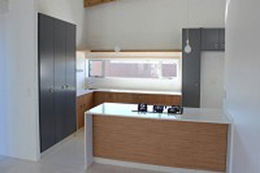 Huge kitchen area